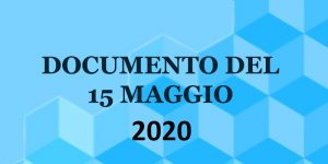 documento-15 maggio 2020